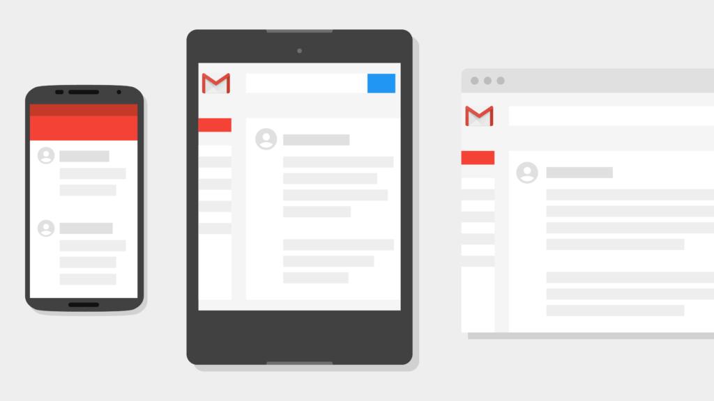 landing gmail