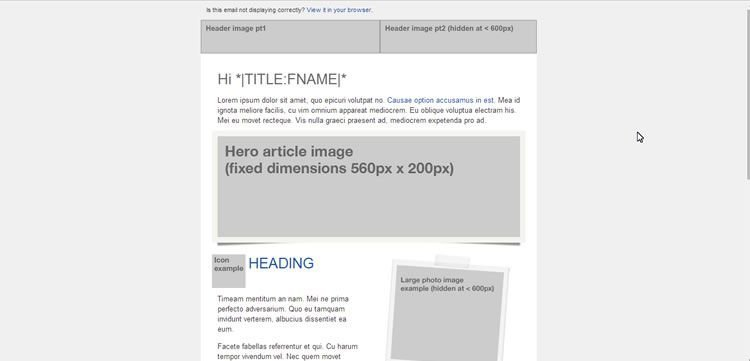 html5 wireframe template - rwdemail 11 tinomail